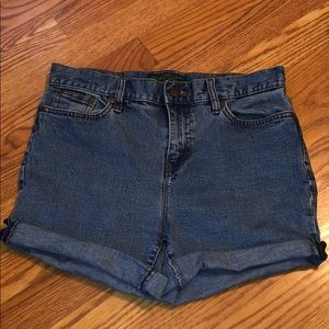 Vintage Ralph Lauren cut-off shorts